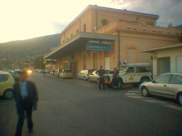 Ex stazione di Ospedaletti