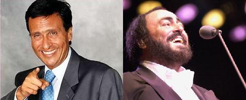 Gigi Sabani - Luciano Pavarotti